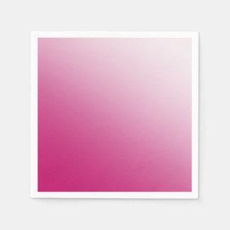 Guardanapo De Papel Inclinação do rosa quente