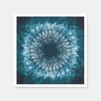 Guardanapo De Papel Índigo Blue Mandala