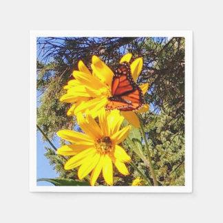 Guardanapo De Papel Jardim da borboleta