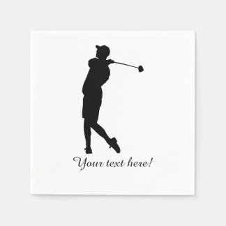 Guardanapo De Papel Jogador de golfe