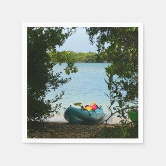 Guardanapo De Papel Kayaking em St Thomas E.U. Virgin Islands