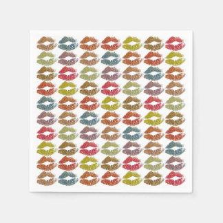 Guardanapo De Papel Lábios coloridos à moda #38