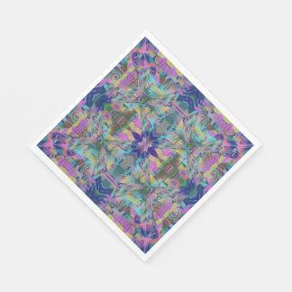 Guardanapo De Papel Labirinto das cores