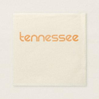 Guardanapo De Papel Laranja de Tennessee