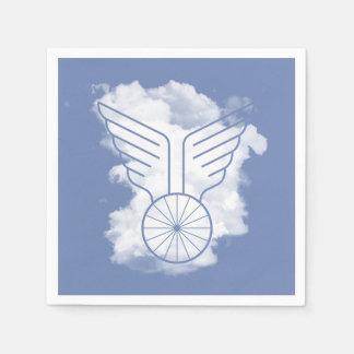 Guardanapo De Papel Liberdade da bicicleta