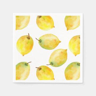 Guardanapo De Papel Limões