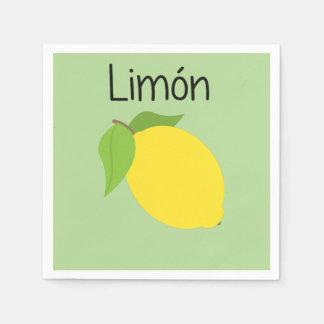 Guardanapo De Papel Limon (limão)