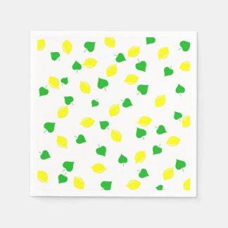 Guardanapo De Papel Limonada doce do verão