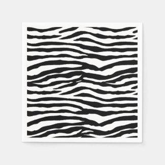 Guardanapo De Papel Listras da zebra
