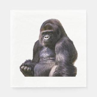 Guardanapo De Papel Macaco do macaco do gorila