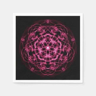 Guardanapo De Papel Mandala. abstrato da galáxia