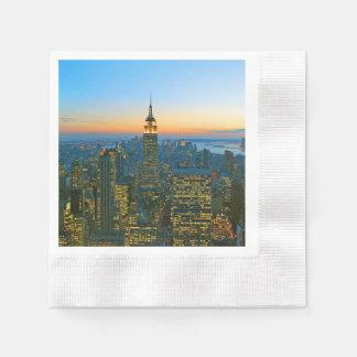 Guardanapo De Papel Manhattan New York