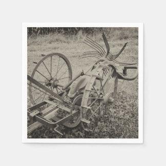 Guardanapo De Papel Máquina agrícola do vintage