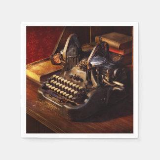 Guardanapo De Papel Máquina de dactilografia de Steampunk - de Oliver