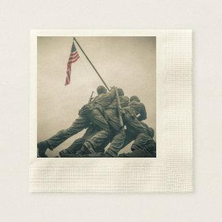 Guardanapo De Papel Memorial de Iwo Jima no Washington DC