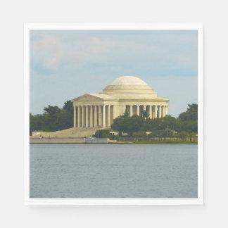 Guardanapo De Papel Memorial de Jefferson no Washington DC
