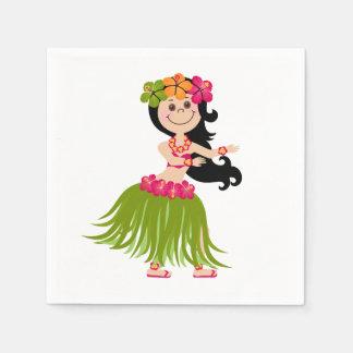 Guardanapo De Papel Menina havaiana