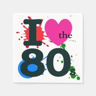 Guardanapo De Papel Mim coração o anos 80