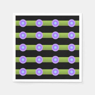 Guardanapo De Papel Minimalismo verde e cor do Lilac