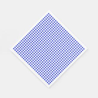 GUARDANAPO DE PAPEL MOD-BLUE-FLORAL-FRESH--NAPKIN-DECOR
