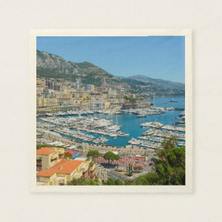 Guardanapo De Papel Monaco Monte - fotografia de Carlo