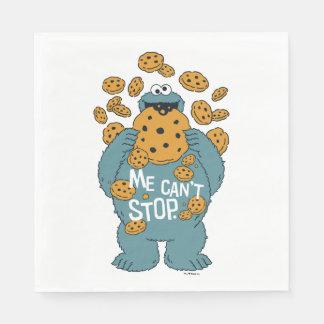 Guardanapo De Papel Monstro do biscoito do Sesame Street | - eu não