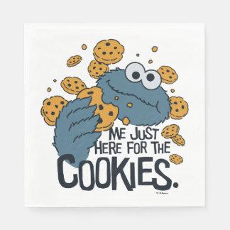 Guardanapo De Papel Monstro do biscoito | mim apenas aqui para os
