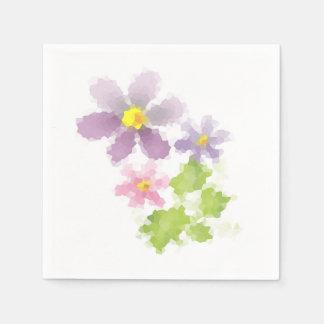 Guardanapo De Papel Mosaico 2 da flor da flor