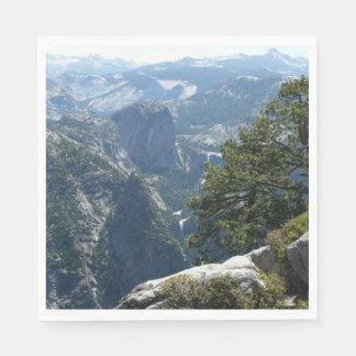 Guardanapo De Papel Mountain View de Yosemite no parque nacional de