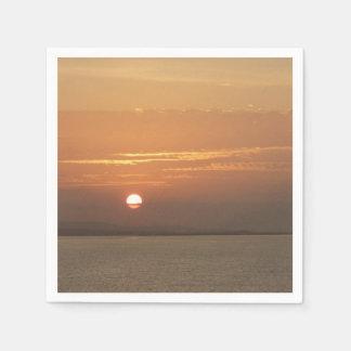 Guardanapo De Papel Nascer do sol sobre Aruba eu caribe o Seascape