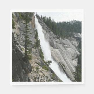 Guardanapo De Papel Nevada cai no parque nacional de Yosemite
