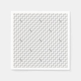 Guardanapo De Papel Nota musical - teste padrão geométrico abstrato -