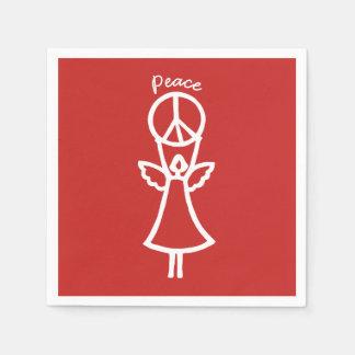 Guardanapo De Papel O anjo da paz escolhe a cor