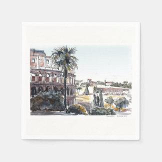 Guardanapo De Papel O Colosseum