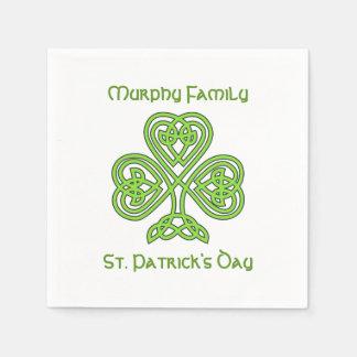 Guardanapo De Papel O dia de St Patrick personalizado