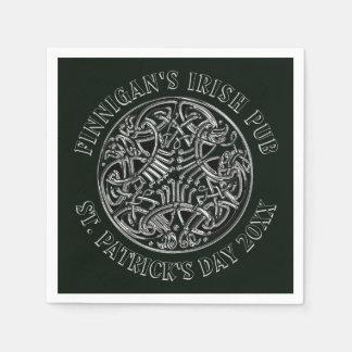 Guardanapo De Papel O dia impressionante de St Patrick do céltico
