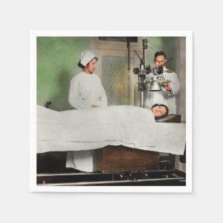Guardanapo De Papel O doutor - raio X - que obtem minha cabeça
