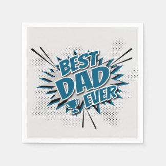 Guardanapo De Papel O melhor pai nunca