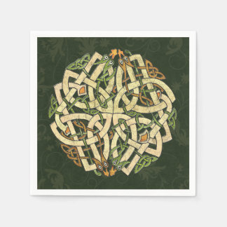 Guardanapo De Papel Ornamento celta