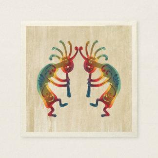 Guardanapo De Papel Ornamento de KOKOPELLI + suas ideias