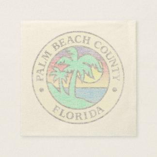 Guardanapo De Papel Palm Beach County