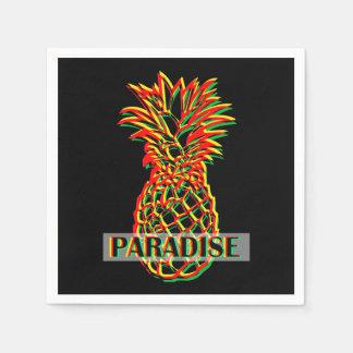 Guardanapo De Papel Paraíso do abacaxi