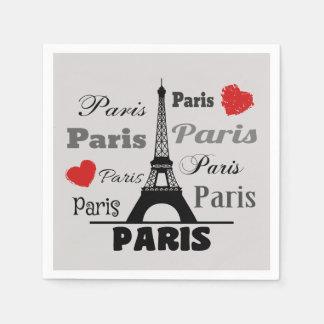 Guardanapo De Papel Paris