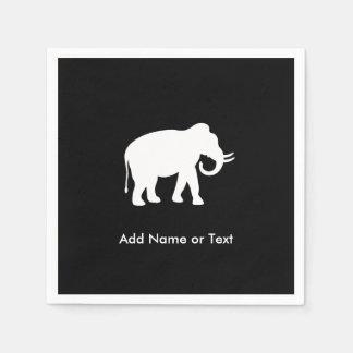 Guardanapo De Papel Partido da troca do presente do elefante branco
