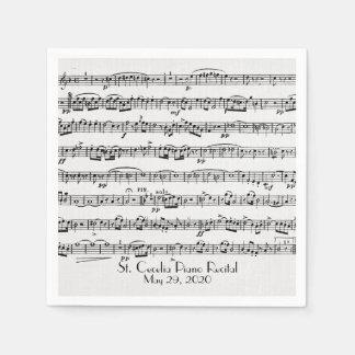 Guardanapo De Papel partitura para o considerando do piano