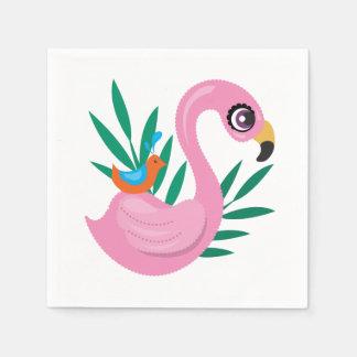 Guardanapo De Papel Patinho cor-de-rosa