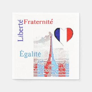 Guardanapo De Papel Patriótico francês