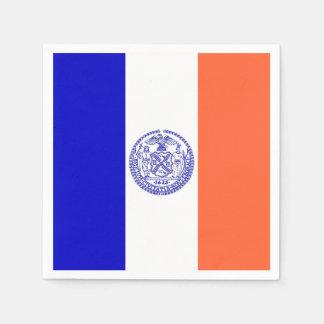 Guardanapo de papel patrióticos com a bandeira da