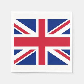 Guardanapo de papel patrióticos com bandeira de
