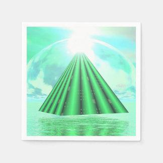 Guardanapo De Papel Pirâmide Mystical - 3D rendem